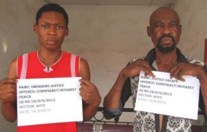 Slammed for cybercrime: father and son arrested for Internet fraud