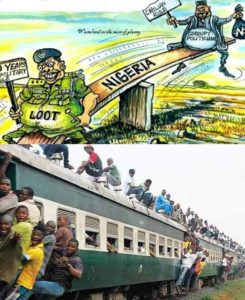 Looted and underdeveloped Nigeria
