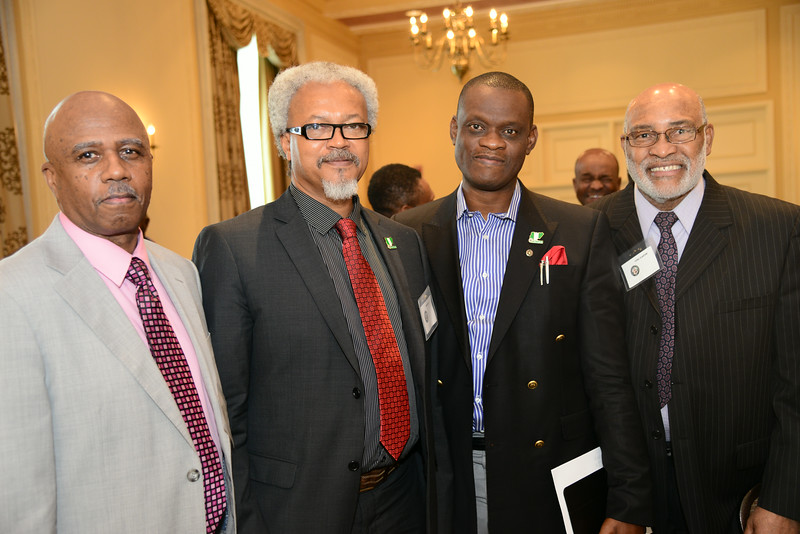 Cyril Claxton of US based eHealth Solutions, and DG of NITDA, Mr. Peter Jack, Engr Wilson Chinedu Agu, a member of NITDA's board and Joe Williams also of US based eHealth Solutions.