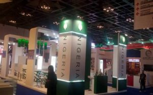 Opened for business: Nigeria Country Pavilion at Gitex 2015
