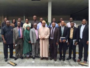 Stakeholders at the recent Port Harcourt Forum on open data initiative