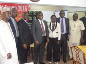 NCC Officials at the eWorld Forum in Lagos