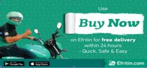 Efritin adds speed to online delivery with 'Buy Now'