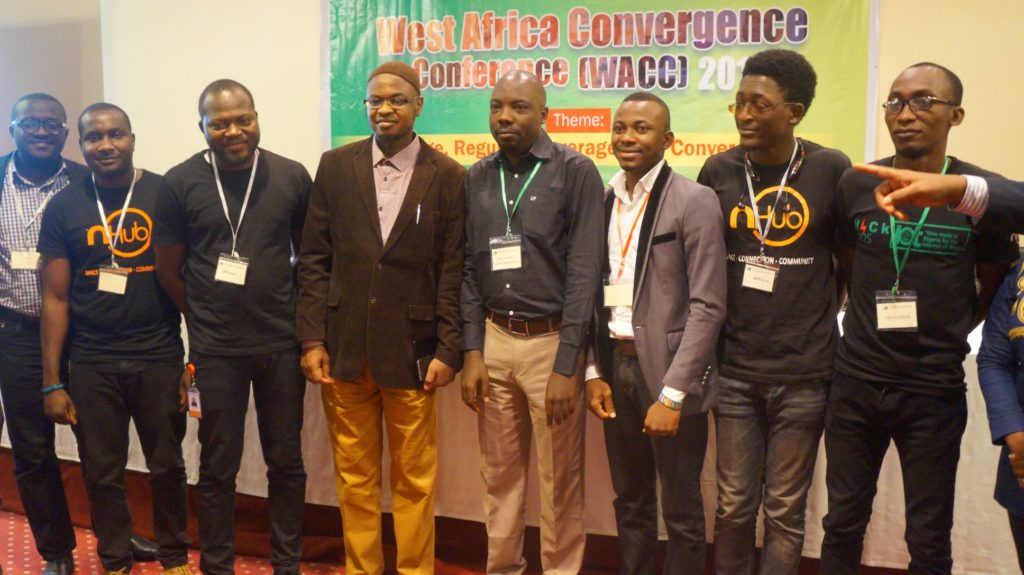 DG of NITDA, Dr Isa Ali Ibrahim Pantami and startups from Jos at WACC 2016