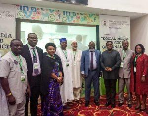 Adebayo Shittu and Participants at Social Media for Good Governance