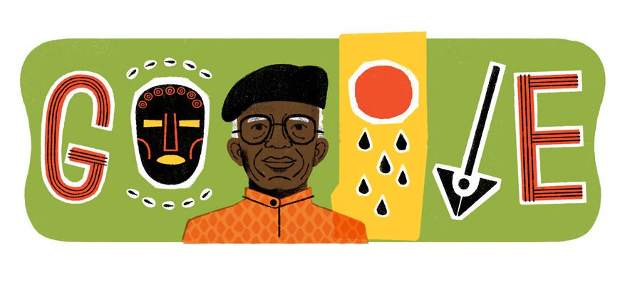 Google honors Chinua Achebe with a doodle