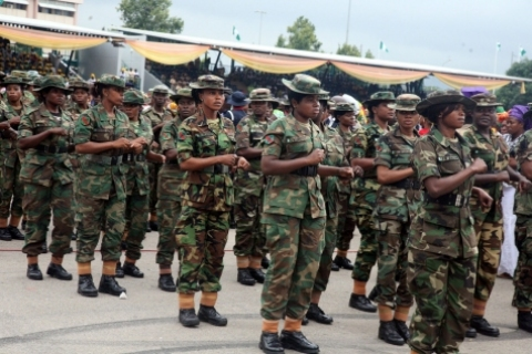 Beware of Social Media! Military says news of de-commissioning female cadets is fake