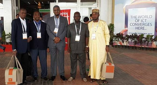 Pantami and the NITDA team at INDIASOFT2018
