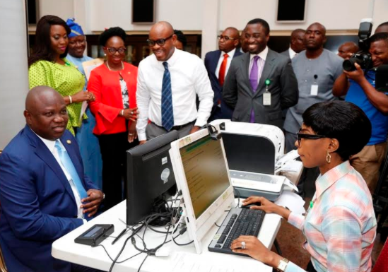 Ambode registers at NIMC