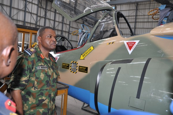 Chief of Air Staff Air Marshal Sadique Abubakar