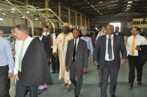 Inside Nissan Nigeria assembly plant