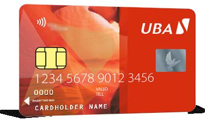 UBA NFC cards
