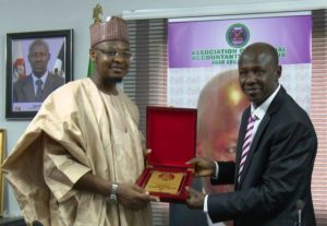 Dr. Isa Ali Ibrahim Pantami and Mr. Ibrahim Magu