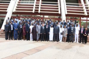 Group photograph of all the members at the 2nd ITU African Preparatory Meeting (APM) at Transcorp Hotel, Abuja