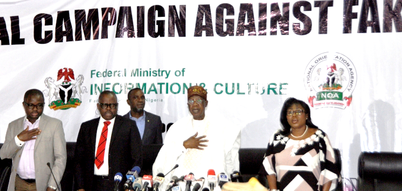 Fake news is threat to national peace, says Nigerian Information Minister Lai Mohammed