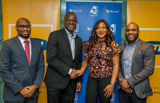 Microsoft, MTN ink deal to drive growth of SMEs in Nigeria