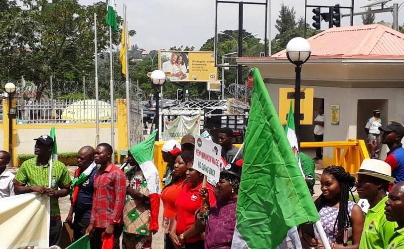 NLC pickets MTN Nigeria