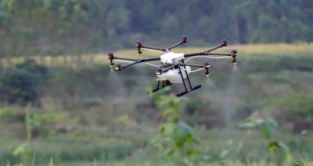 Agricultural Drones.Image: Dronethusiast