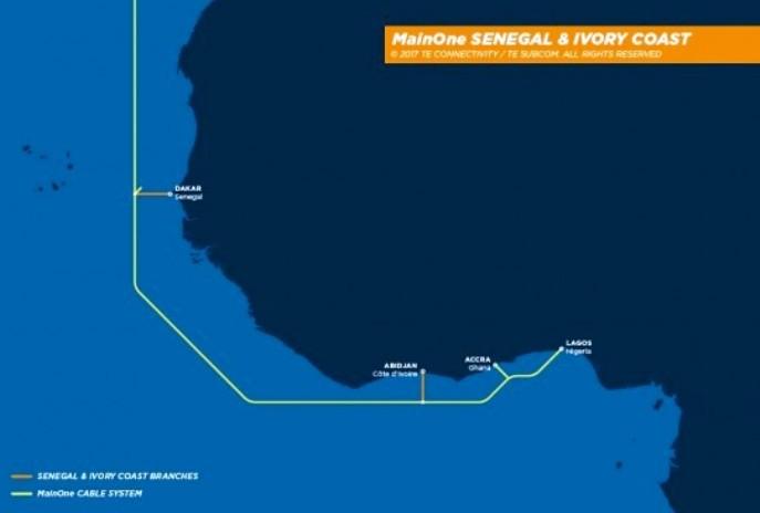 TE SubCom chosen to extend MainOne Cable System to francophone region