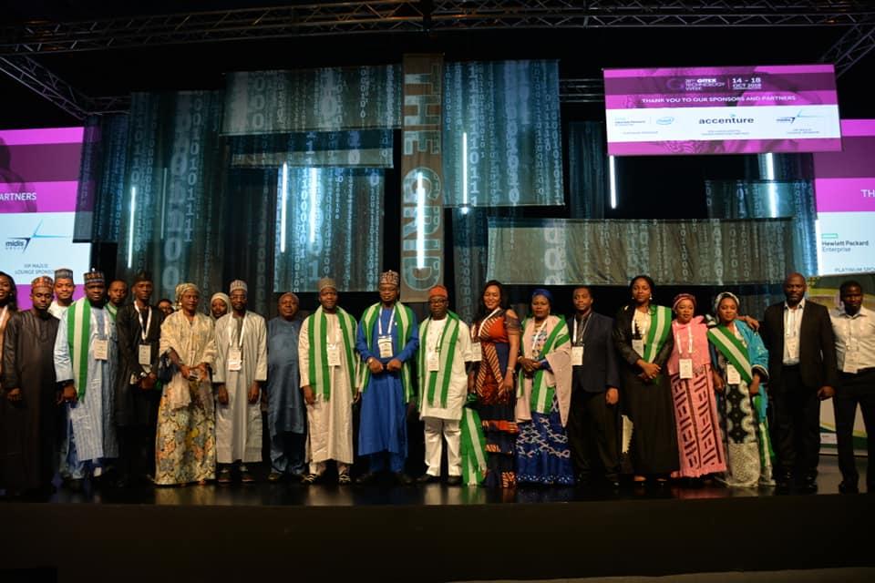 Nigerian delegation at GITEX