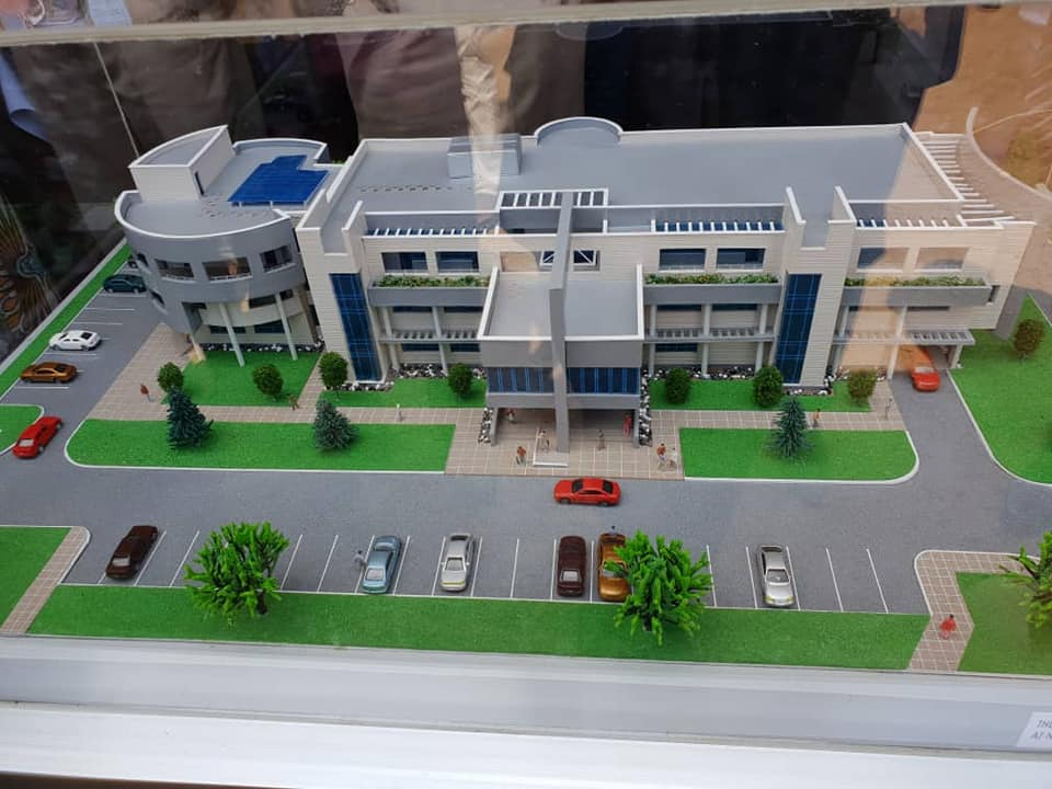 Model of the NIS communication centre