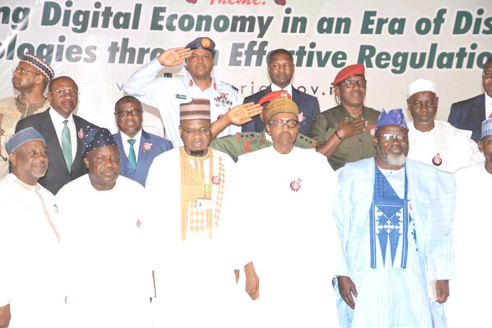 The president and stakeholders at eNigeria