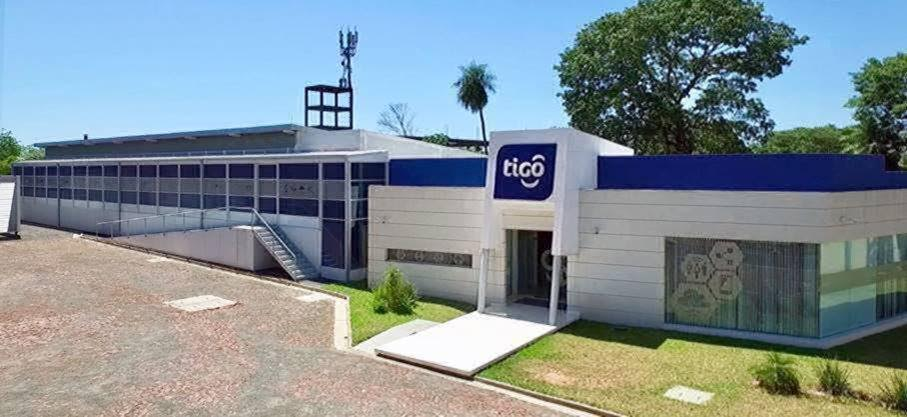 Completed eCentre data centre in Paraguay