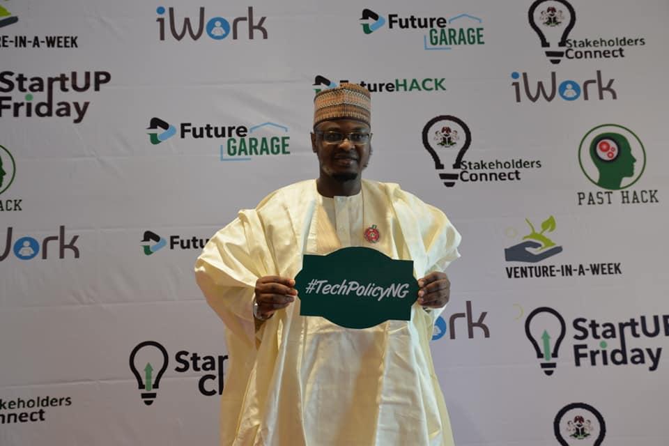 Dr Isa Ali Ibrahim Pantami at Startup Friday, Abuja