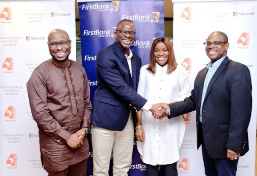 Microsoft, 4Afrika partners FirstBank to support SMEs
