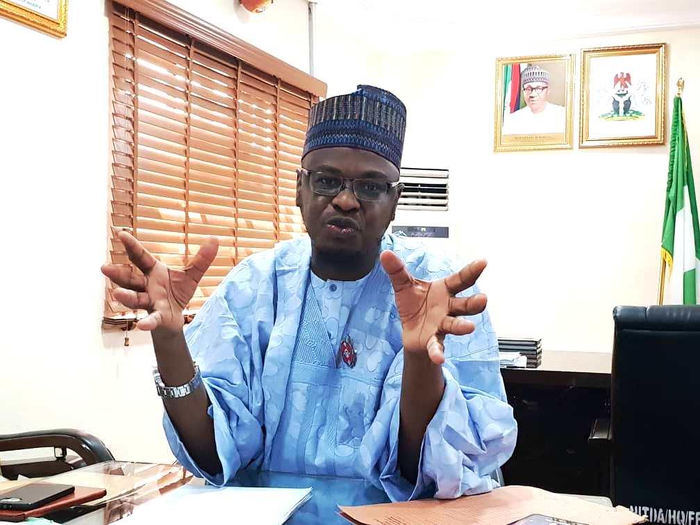 Dr Isa Ali Ibrahim Pantami, NITDA's boss