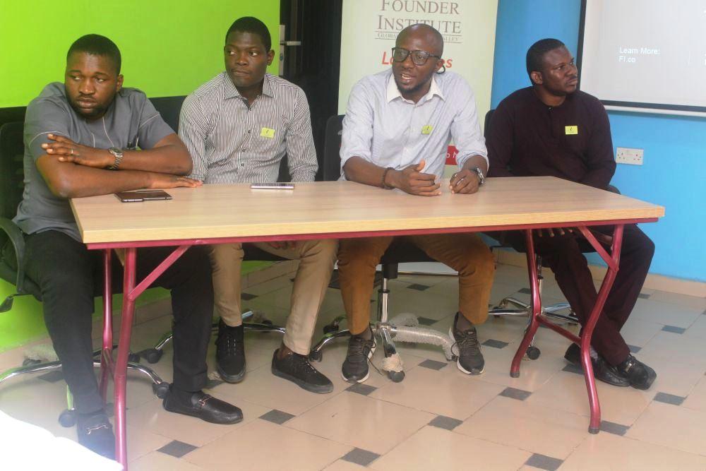 "L-R: Oluwarotimi Fasuyi, CEO, VasDigiMobility; Ifedy Eze, Co-founder, Maisematrix Consulting; Wande Adalemo CEO, Wave3 Wireless and Chukwuemeka Fred Agbata Jnr. ""CFA"", Co-founder, GoDo.ng"