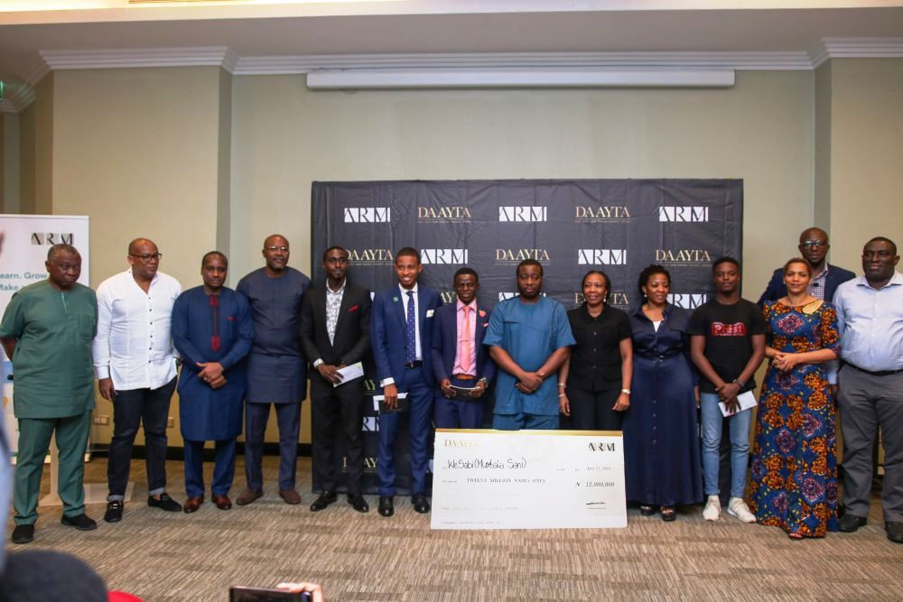 Judges, participants and other stakeholders at DAAYTA  2019