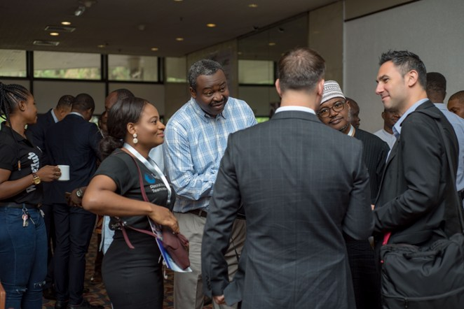 Networking at WACC 2019 Lagos