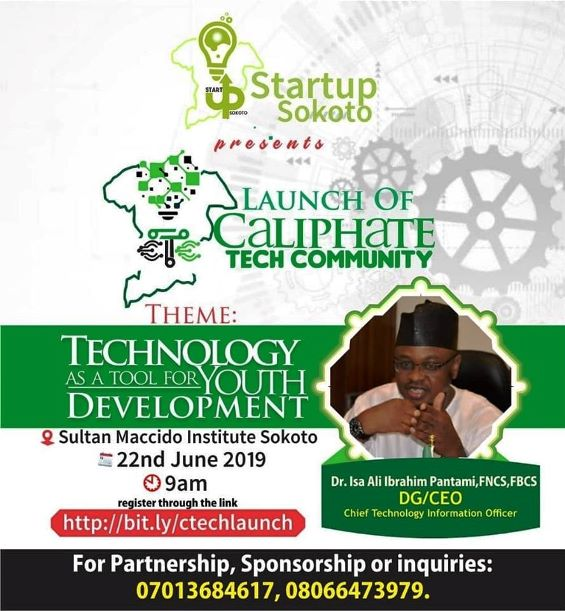 Caliphate Tech Community launches in Sokoto
