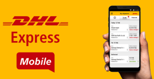 DHL adds new mobile app