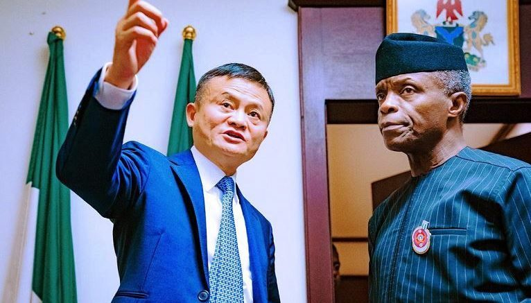 Chinese billionaire Jack Ma says mission in Nigeria is to explore digital opportunities – Four E's