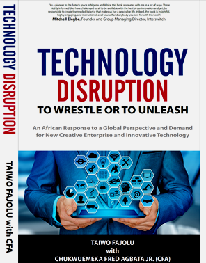 Taiwo Fajolu, CFA to launch book on tech disruption