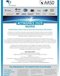 NIGCOMSAT to host ACTINSPACE competition