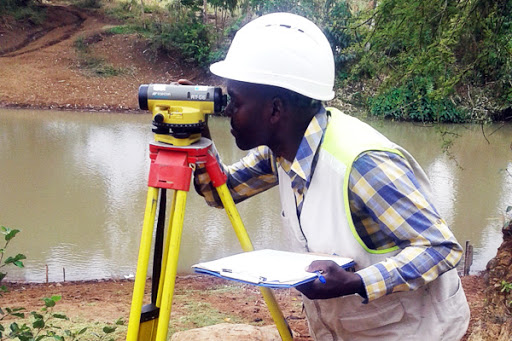 landmapping and surveying in West Africa