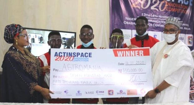 Team Astromania wins ActinSpace Innovation